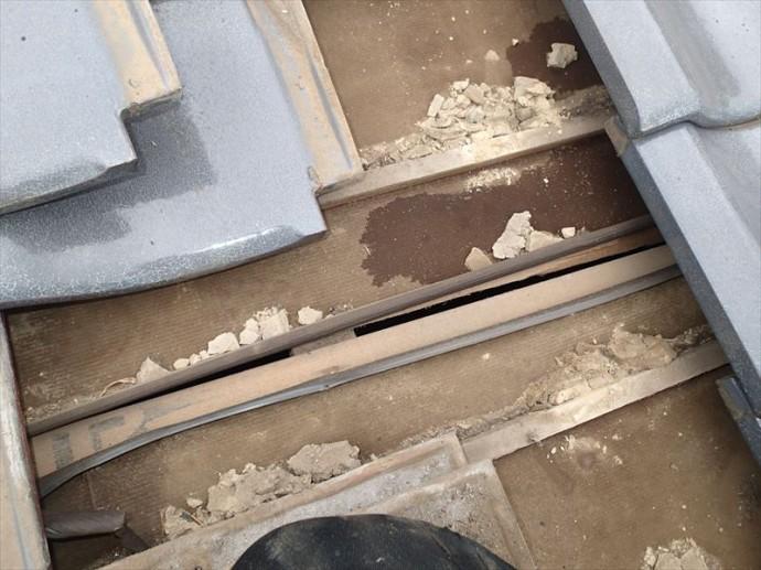 君津市 防水紙の切れ