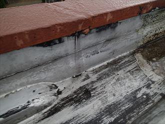 君津市 保護材の劣化