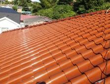松戸市 S瓦の屋根の漆喰詰め増し工事 工事後