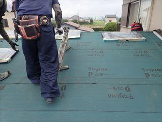 切断機,屋根