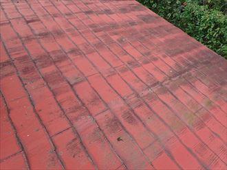 市原市 雨漏り箇所上部の屋根