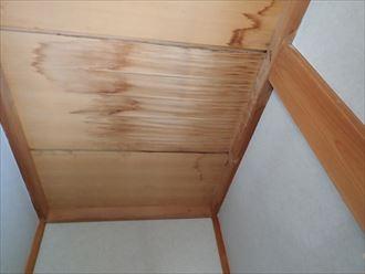 雨漏り,天井材,たわみ