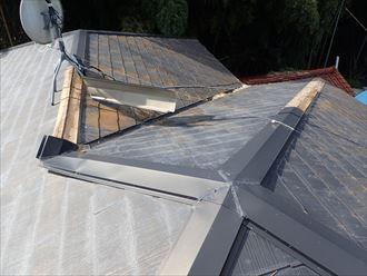 袖ケ浦市 屋根の調査状況