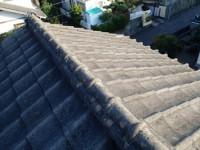 セメント瓦の屋根葺き替え ビフォア