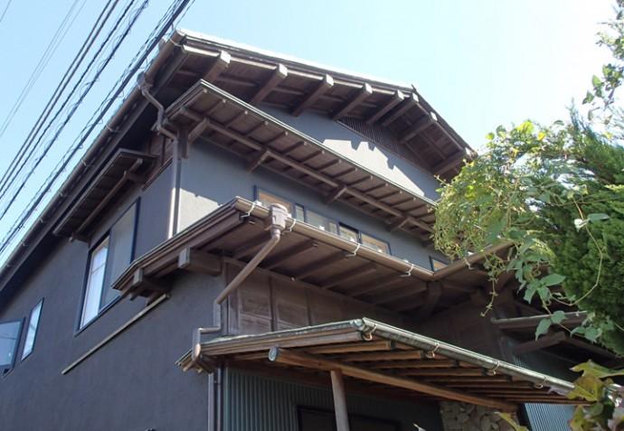 立派な造りの日本家屋