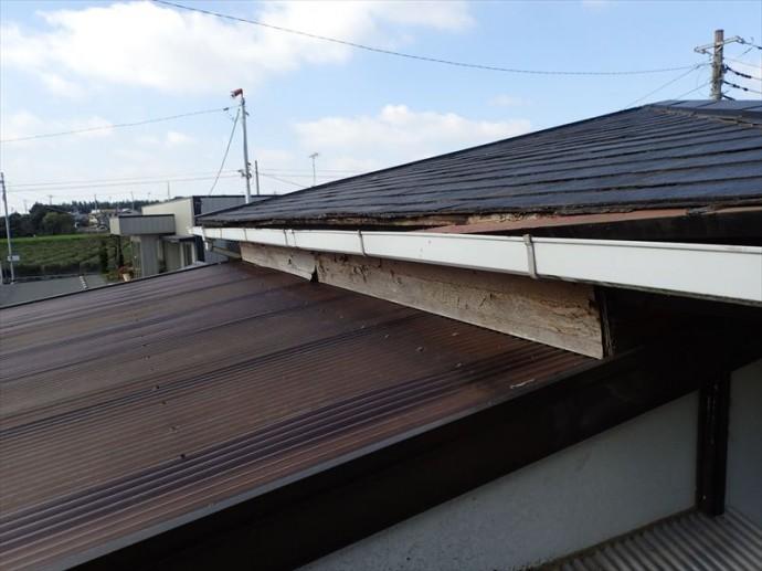 市原市 屋根の傾斜問題