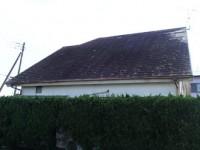 長生郡白子町にてスレート屋根飛散、カバー工法で解決ビフォー