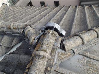君津市 漆喰の欠損