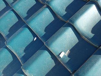 漆喰の剥がれは、瓦の崩れなど二次被害に繋がります|袖ケ浦市
