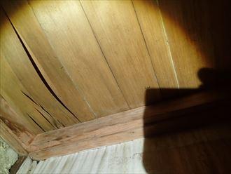 袖ケ浦市 室内の雨漏りの状況