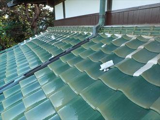 壁きわからの雨漏り、雨押え板金の取付け工事|木更津市