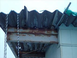 木更津市 鉄骨部分の腐食