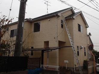 千葉市若葉区でスレート屋根材劣化(ひび割れ)からメンテナンス