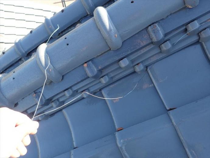 木更津市 銅線の切れ