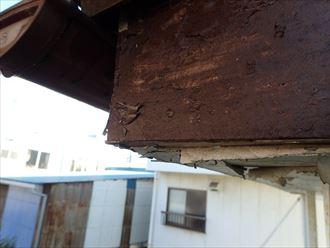 市原市 破風板の施工に問題