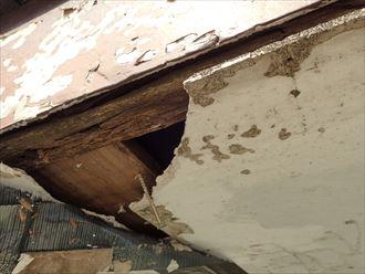 市原市 天井材の傷み