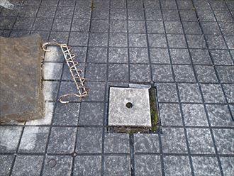 市原市 床にタイル設置