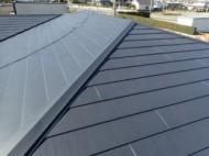 横暖ルーフで屋根カバー工法