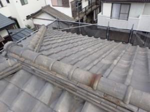 屋根葺き直し後