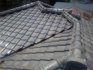 千葉市緑区おゆみ野にて瓦屋根葺き直しで雨漏りを改善いたしましたアフター