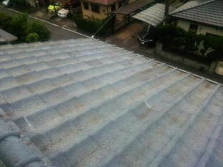 四街道市池花で瓦屋根の部分的な葺き直しでラバーロックと雨漏り解消アフター