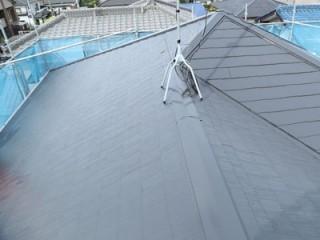 千葉市若葉区桜木で破損したコロニアル屋根を補修、屋根と付帯部の塗り替えとシーリング増し打ちを行いましたアフター