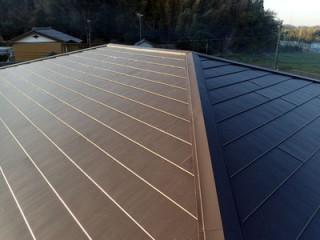 千葉市緑区鎌取町で間違った工事による雨漏りを屋根カバー工法で解消アフター
