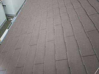 船橋市西習志野で行った化粧スレート屋根調査で防水性の低下により耐久性の低下