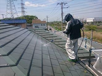 市原市 セメント瓦 屋根塗装工事004_R