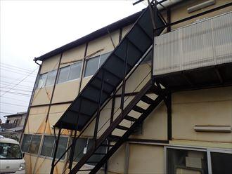 千葉市稲毛区の倉庫の金属屋根、雨漏り調査に伺いました