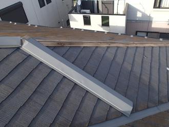 台風被害で多い棟板金の剥がれ