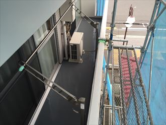 木更津市 タク動物病院 ベランダ施工001_R