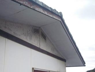 破風板の劣化