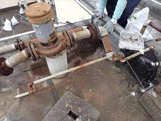 鴨川市 ビルの漏水 防水工事005_R
