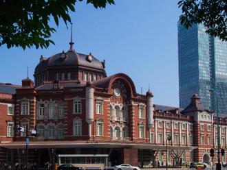東京駅の天然スレート屋根