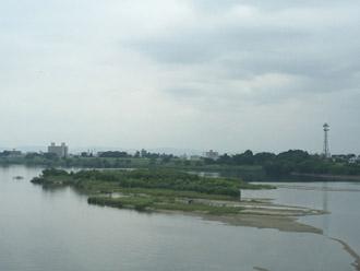 現在の木曽川
