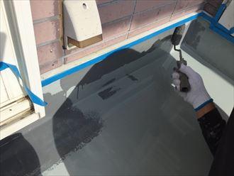 立上り,塗膜防水,トップコート
