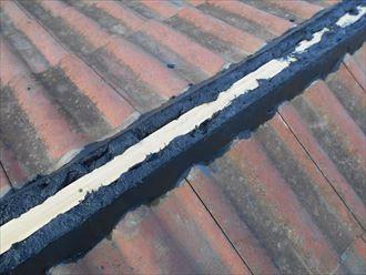 東金市 セメント瓦の補修工事014_R
