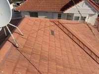屋根カバー工事前
