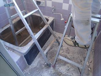 白子町 浴槽解体