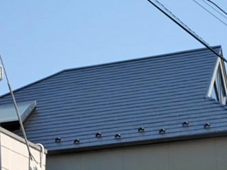 カラーベストの屋根