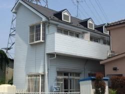 船橋市小室町で屋根・外壁塗装とアパートの外装をフルメンテナンスビフォー