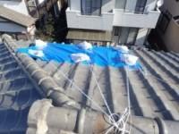 屋根葺き直し前