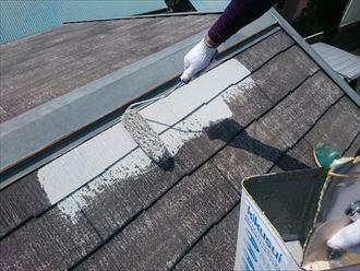 木更津市 屋根塗装 コロニアル008_R