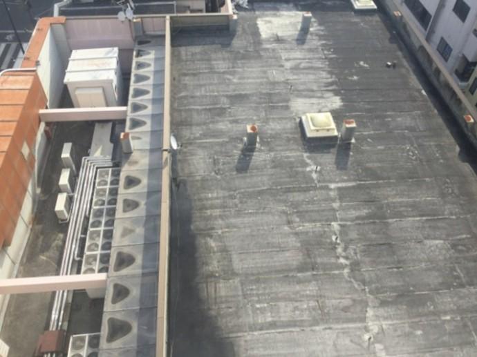 本格的な防水工事が必要な屋上