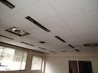 木更津市の倉庫|屋根リフォームと同時に内装工事もスタート