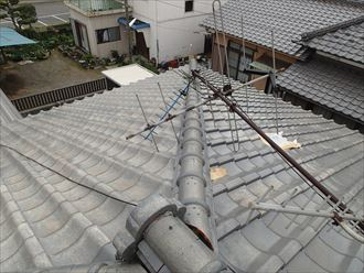 袖ケ浦市で和型瓦の屋根リフォーム 交換工事完了