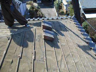 茂原市 瓦の葺き直し工事001_R
