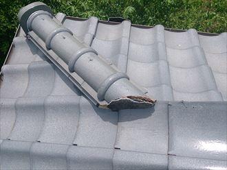 君津市 屋根の調査 和瓦2001_R