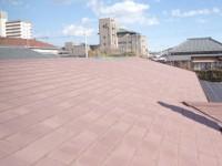 大屋根葺き替え工事前